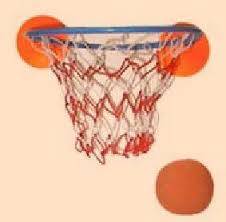 Nerf Basketball... my brother's and I played this forever!!! Then used the ball for a hundred other made-up sports... LoL