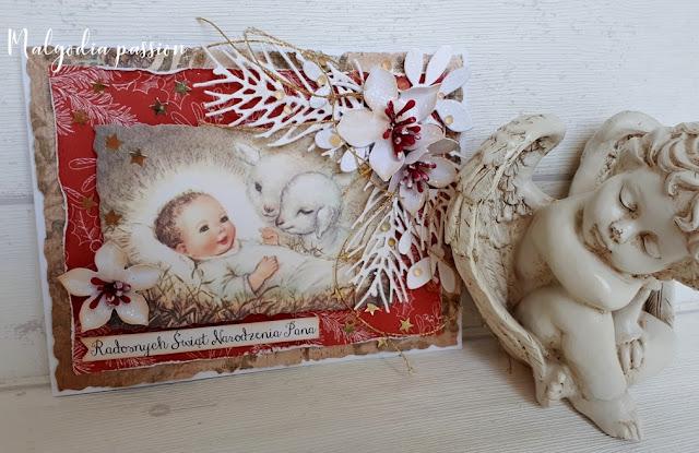 Kartki świąteczne z Dzieciątkiem