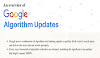 An Overview of Google Algorithm Updates #infographic