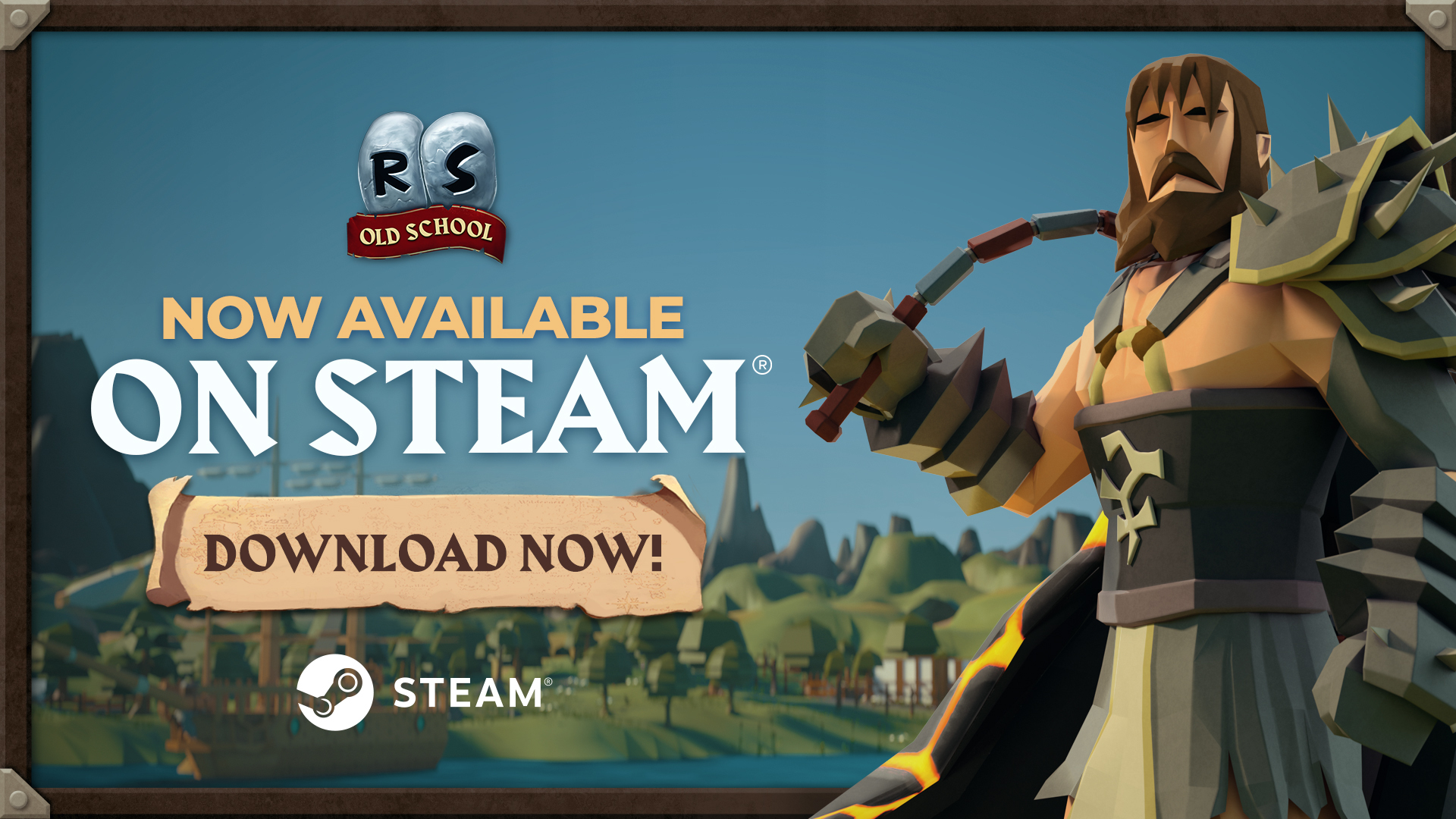 OLD SCHOOL RUNESCAPE NOW AVAILABLE ON STEAM