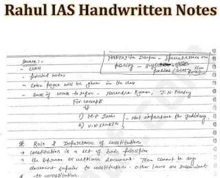 Law optional printed notes by Rahul ias English PDF