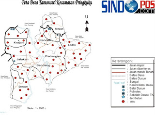 Profil Desa & Kelurahan, Desa Tamanasri Kecamatan Pringkuku Kabupaten Pacitan