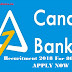Canara Bank Probationary Officer Result Released