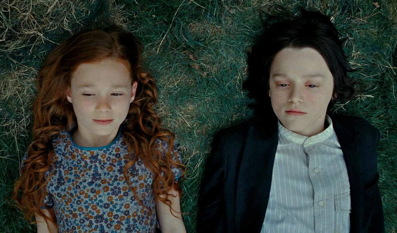 Lílian Potter e Severo Snape