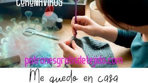 Coronavirus: Me quedo en casa tejiendo