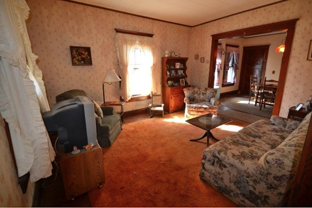color photo of living room Sears Winona 3 Prospect St High Bridge NJ