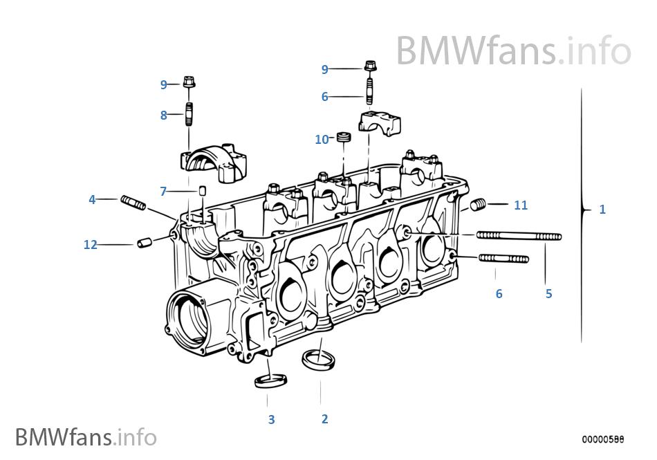 BMW E36 SOLUTION: Part mesin BMW E36 M40 Bag 1