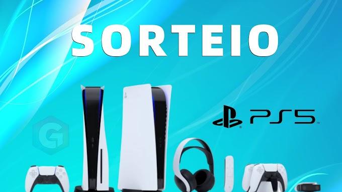 Sorteio do Playstation 5