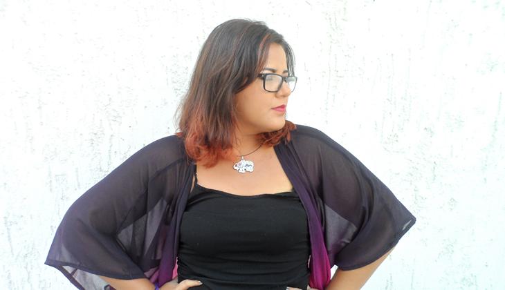 Fashion blogger plus size