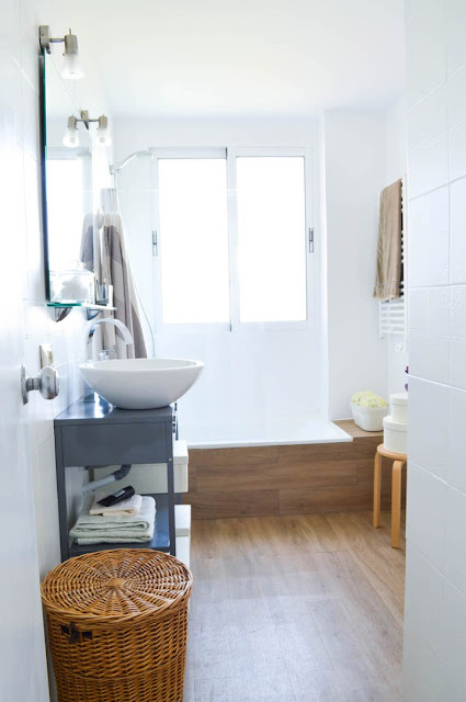 Before and After - Nordic Bathroom 4