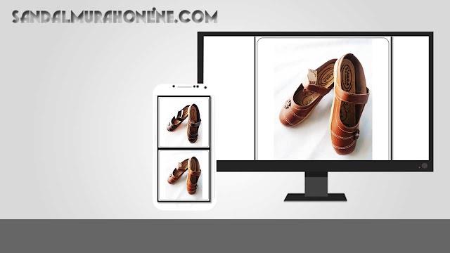 Sepatu Sandal Aura Tutong | Sandal Murah Garut Indonesia