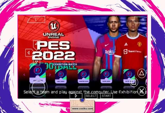 PES 2021 Camera PS4 Iso Ppsspp Ukuran 500MB