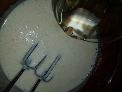 الكيكة الهشة بالنشا