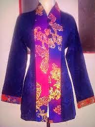 Model Baju Batik Embos Kombinasi Modern Terbaru, Foto Dan Gambarnya