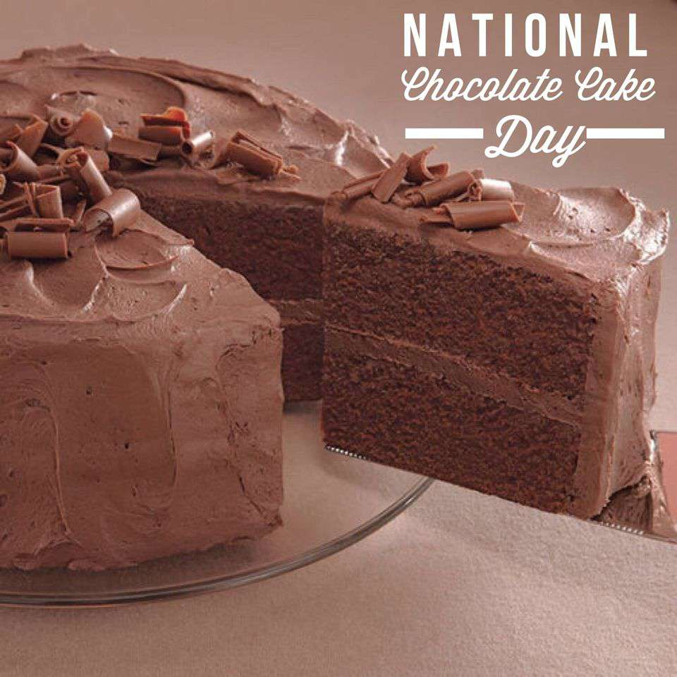 National Chocolate Cake Day Wishes Photos
