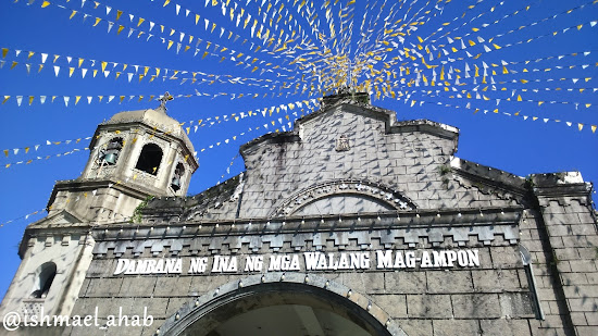 The beautiful Our Lady of the Abandoned Church in Marikina CIty