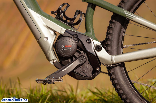 Der Bosch Performance CX e-Mountainbike Antrieb