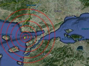 saros körfezi deprem 08.01.2013