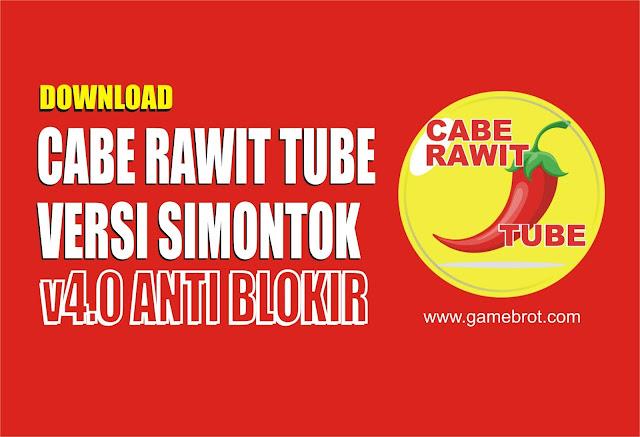 Cabe Rawit Tube APK Versi Simontok 4.0 Terbaru 2019 Tanpa VPN dan Aman!