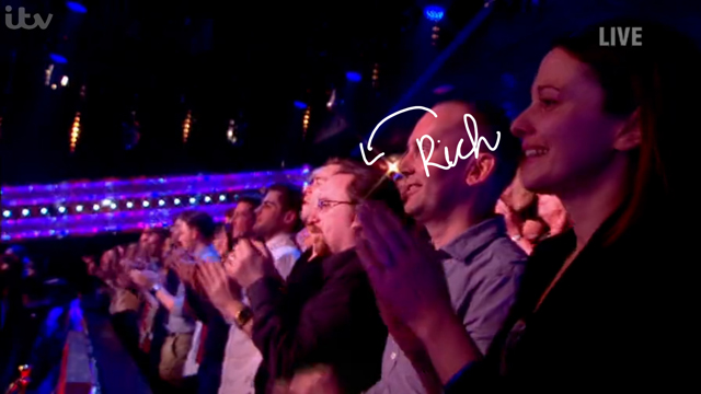 Saturday Night Takeaway Audience Close Up