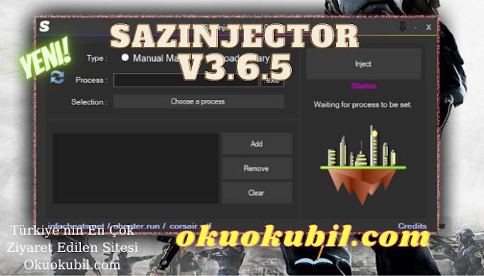 SazInjector v3.6.5 working for all games Tüm Oyunlar indir Şubat 2021