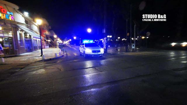 Αυστηροί βραδινοί έλεγχοι της αστυνομίας στο Ναύπλιο