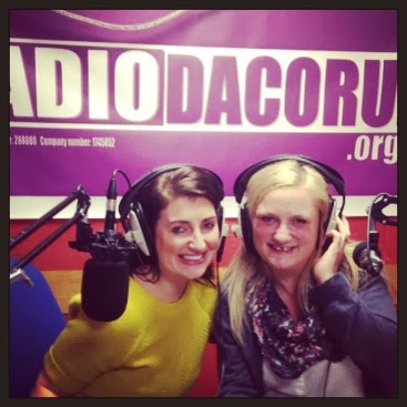 two radio hosts, The Mummy Mix, Radio Dacorum