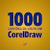1000 cartões de visita em CorelDraw para download grátis