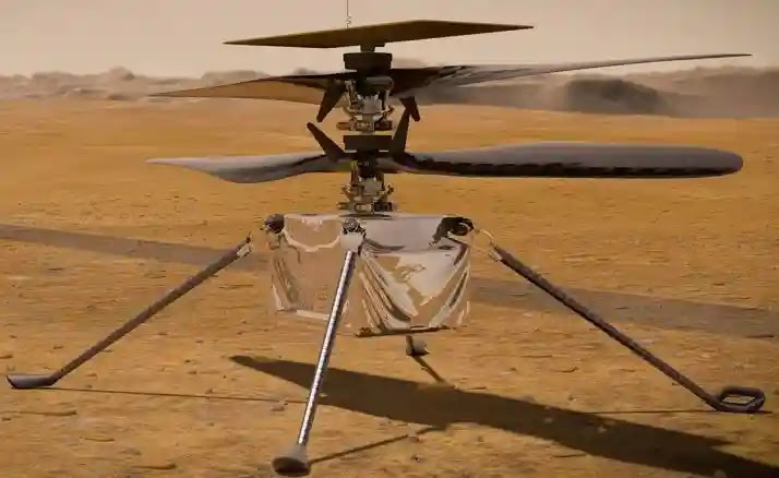 NASA plans to test a prototype helicopter Ingenuity flight over Mars