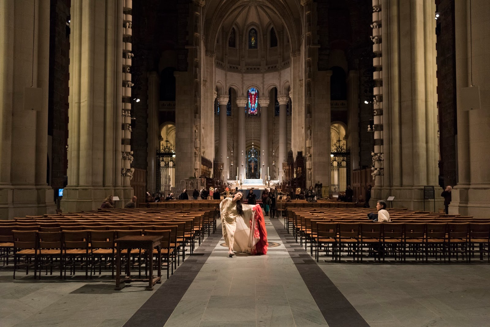 InfiniteBody: Update on Eiko Otake at Cathedral of St. John the Divine