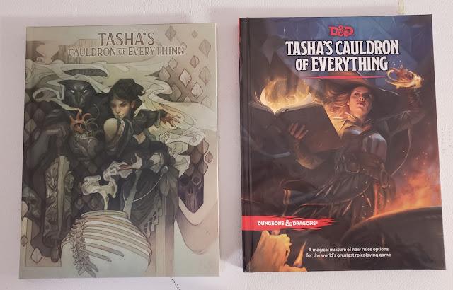 Tasha's Cauldron of Everything covers