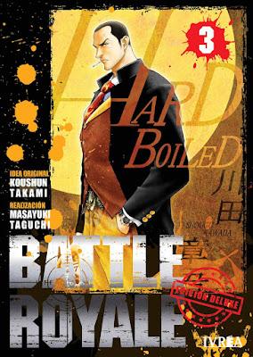 Manga: Review de Battle Royale Ed. DeluxeVol.3 y 4 de Koushun Takami y Masayuki Taguchi - Editorial Ivrea