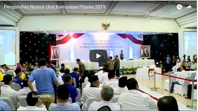 Live Streaming: Pengundian Nomor Urut Capres-Cawapres di KPU