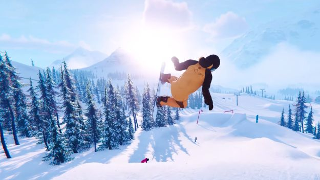 Shredders is a new snowboard game in which we will define our own riding style