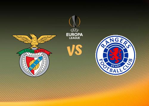 Benfica vs Glasgow Rangers  Resumen