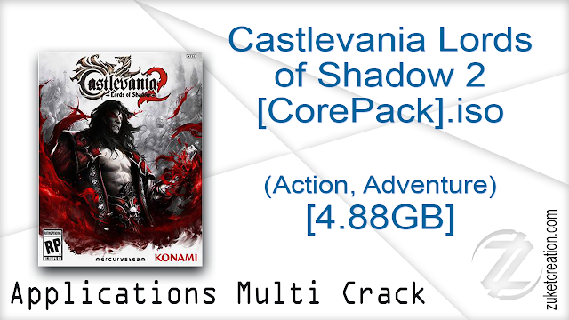 Castlevania Lords of Shadow 2 [CorePack].iso (Action, Adventure) [4.88GB]
