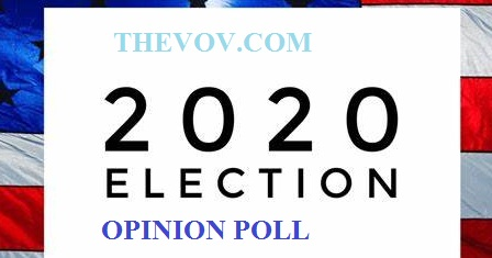 2020 US Presidential Election 2020 Opinion Poll Sample Logo Design