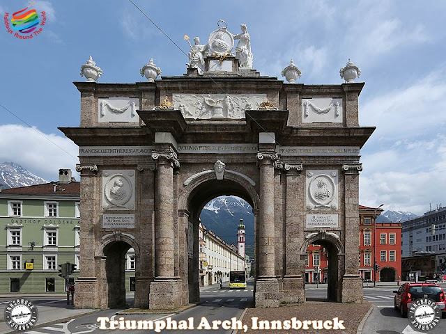 The most important tourist attractions in Innsbruck, Austria