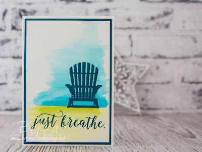 Just Breathe Card featuring the Colourful Season Bundle from Stampin' Up! UK.  Buy Stampin' Up! UK here