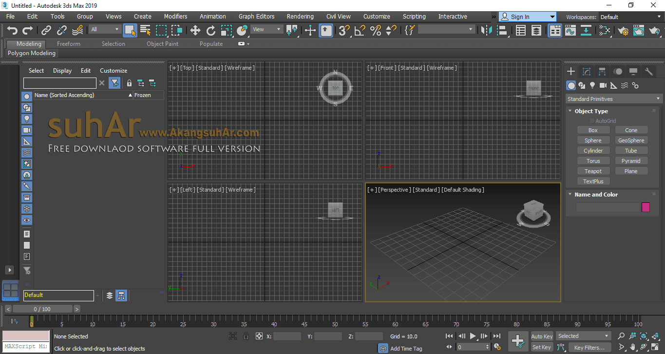 Gratis Download Autodesk 3DS Max 2019 Full Crack Terbaru, Autodesk 3DS Max Full Keygen