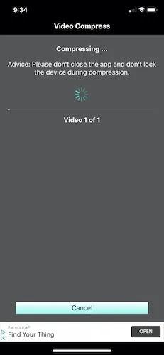 كيفية ضغط ملفات الفيديو فون