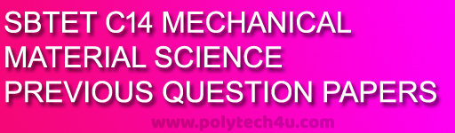 diploma c-14 materials science old question papers sbtetp