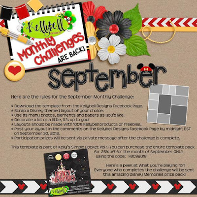 Kelly has a September Challenge for you...