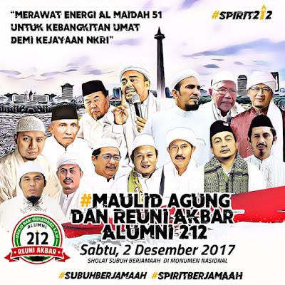 Reuni Akbar 212, Reuni Raksasa Umat Islam