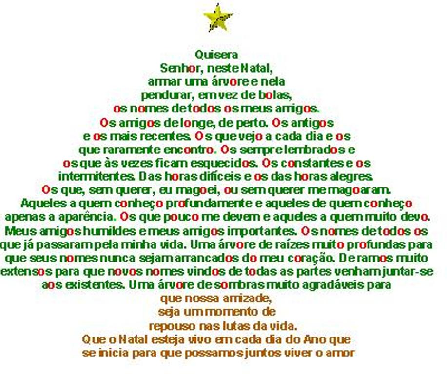 Janela Do Sóton: Mensagem De Natal