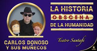 La historia obscena de la humanidad | Teatro Santa Fe