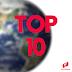 Top 10: Países que mais visitam o blog