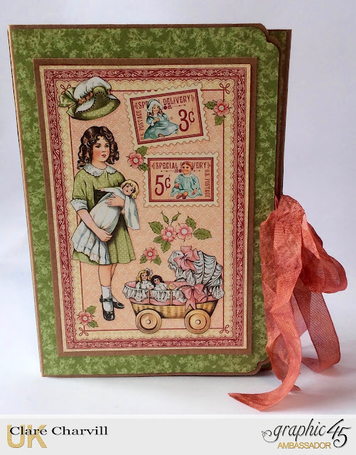 My Little paper Doll Book Clare Charvill Graphic 45