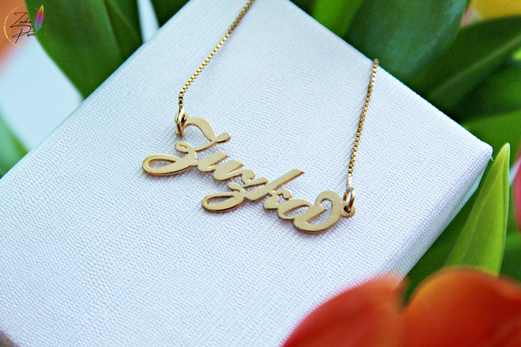 Personalizowana biżuteria dla niej - ONCEKLACE