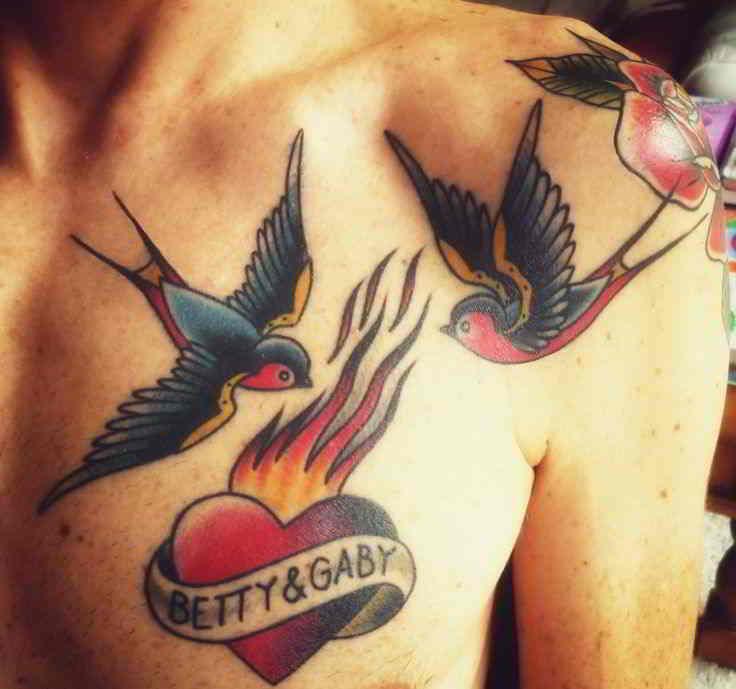 tatuajes estilo tradicional americano